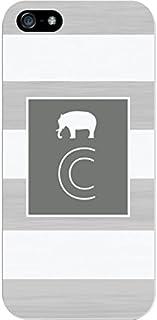 IPH5 CASE Stripes, Grey Elephant- C