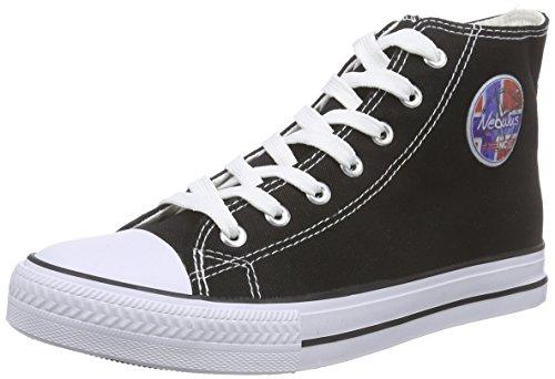 Nebulus Herren Jersey hohe Leder Sneaker