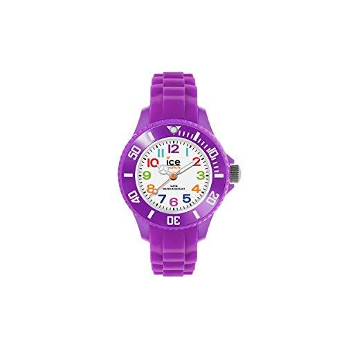 Ice-Watch - Ice Mini Purple - Montre Violette pour Fille avec Bracelet en Silicone - 000788 (Extra Small)