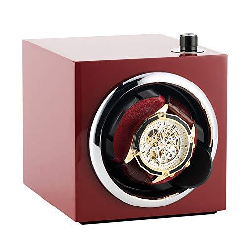 Caja giratoria para Relojes Watch Winder Auto Rotación Ajustable Velocidad del Motor...