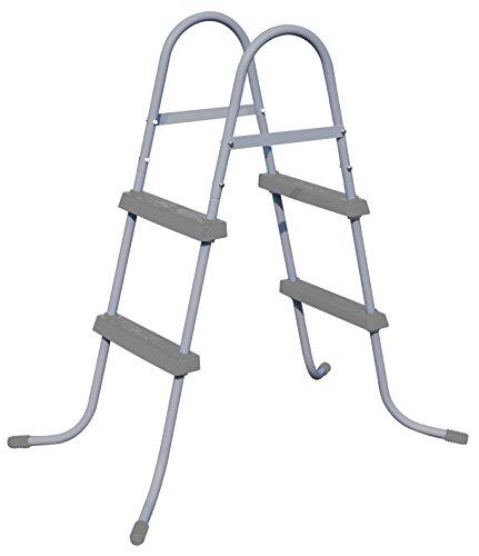 Escalera de doble subida de 84 cm para piscinas