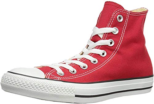 Converse Chuck Taylor All Star Hi Top, Zapatillas Unisex Adulto, Rojo (Varsity Red), 37 EU
