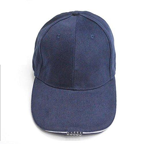 OSISTER7 Hands Free LED Baseball Cap Hat, Outdoor Cap Lighted Cap, Baseball...