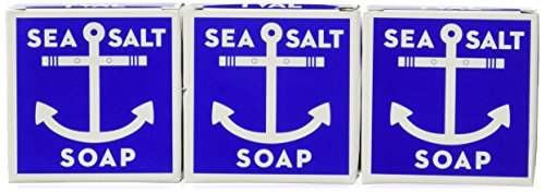 Swedish Dream Sea Salt Soap (3 Pack) 4.3ozeach soap set by Kala by Kala