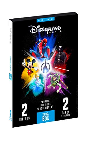 Tick&Box – Caja de Regalo Disneyland Paris 1 día 2 Parques