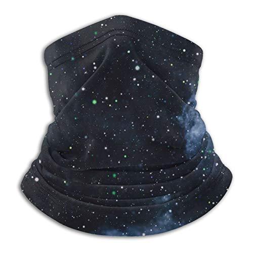 Hermoso espacio Stardust y estrellas reutilizable ajustable para hombres y mujeres, bandana multifuncional al aire libre, sol y a prueba de polvo, casual, pasamontañas, bandanas impresas