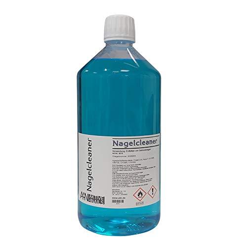 Cleaner für Gel Nägel zum entfetten und reinigen bei der Nagel-Modellage (1000ml) Nail Cleaner Blau für Gelnägel 1 Liter