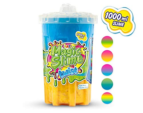 CRAZE 16404 Twist Magic Slime Kinderschleim Schleim für Kinderzimmer Kinderparty, bunt