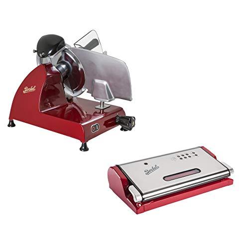 Berkel Schneidemaschine Red Line 250 rot + Vakuummaschine Berkel