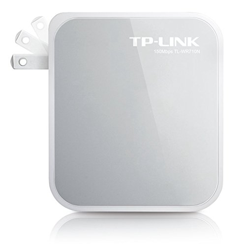 TP-Link N150 Wireless Wi-Fi Mini Router with Range Extender//Access Point//TV Adapter Modes TL-WR710N