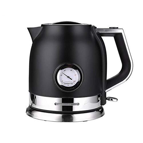 N-B Bouilloire électrique, Bouilloire en Acier Inoxydable 304, sans BPA, Bouilloire électrique Domestique avec Fonction d'arrêt Automatique et Fonction d'affichage de la température (1,8 L, 1500 W)