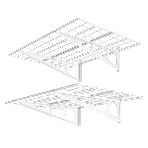 FLEXIMOUNTS WR24 Storage Rack, White