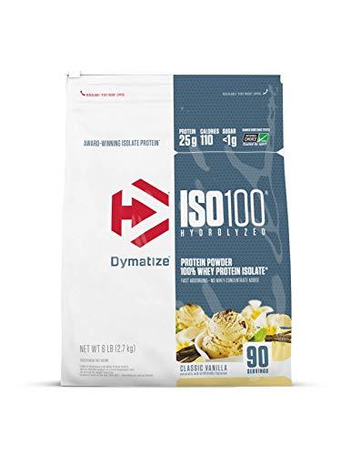 Iso 100 Hydrolyzed (6lbs / 2.7kg) - Dymatize Nutrition (Classic Baunilha)