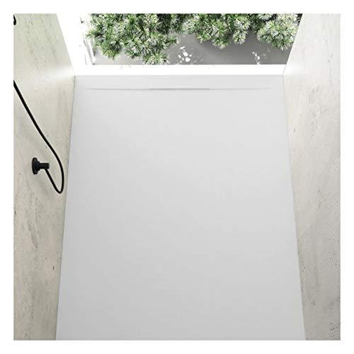 Plato de ducha resina MILANO COVER color BLANCO 70x140cm
