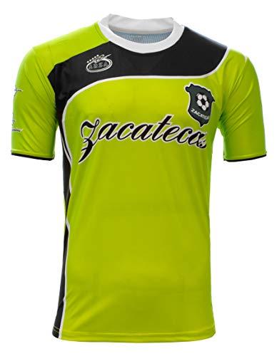 Zacatecas Mexico Soccer Jersey Arza Design (Medium) Green