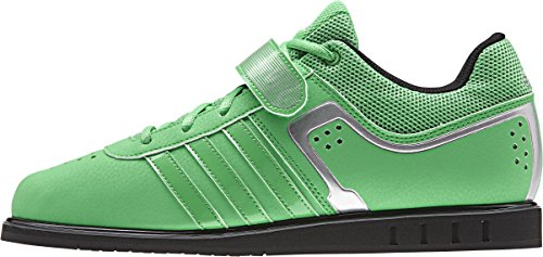 adidas Powerlift2, Unisex Adulti' Multisport Indoor Scarpe - Lime, EU 48