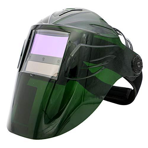 DUTUI Máscara De Soldadura De Oscurecimiento Automático, Máscara De Oscurecimiento Montada En La Cabeza Soldadura De Soldadura Soldadura De Protección Casco De Soldadura