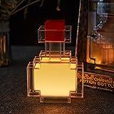 TNKER Pixels Potion Bottle Light Color-Changing LED Lamp 7 Inch Night Light for MCER Bedroom Living Room Gaming Room Study Room