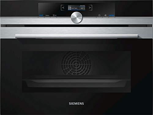 Siemens iQ700 CB675GBS3 - Horno (Medio, Horno eléctrico, 47 L, 2990 W, 47 L, 300 °C)
