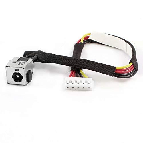 DBParts - Cable de alimentación para HP Compaq Presario C700 A900 C703 C709 C762NR C706NR C712NR C713NR C714NR C715NR C751NR C717NR F700 F751NR C769US C770US C771US C776NR C777GR 7000