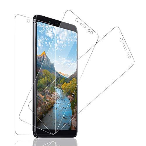 SNUNGPHIR® Protector de Pantalla para Xiaomi Redmi Note5 Pro Cristal Vidrio Templado para Xiaomi Note5 Pro [9H Dureza] [Anti-Huella Digital] [Anti-Arañazos] [Sin Burbujas] [Transparencia Alta] [3pcs]