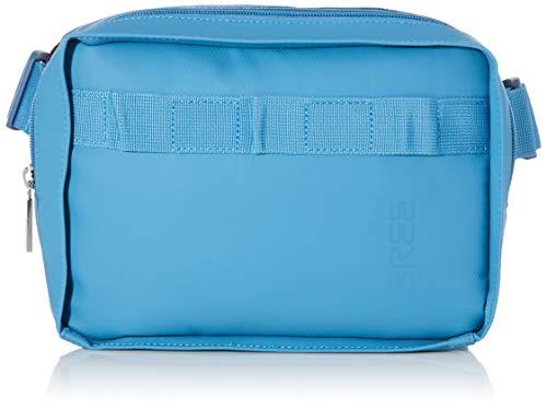 BREE Unisex-Erwachsene Punch 729, Provenc, Boby Bag M W19 Umhängetasche, Blau (Provincial Blue), 9x17x24 cm