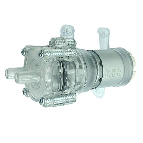 harayaa Motor de Bomba de Bomba de Acuario Resistente Al Calor de 6 V a 12 V 0.3MPA R385