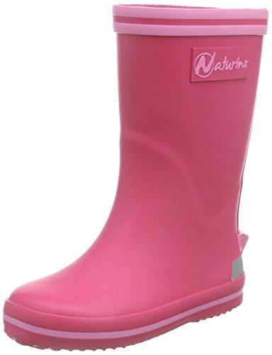 Naturino Mädchen RAIN Boot. Gummistiefel, Pink (Gomma Fuxia-ROSA), 34 EU