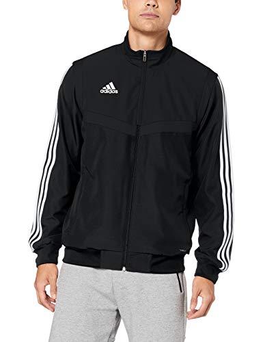 adidas Herren TIRO19 PRE JKT Sport Jacket, Black/White, 18-20