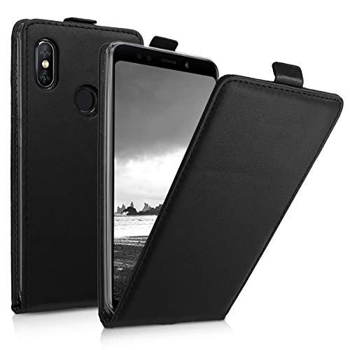 kwmobile Hülle kompatibel mit Xiaomi Redmi Note 5 (Global Version) / Note 5 Pro - Handy Hülle Handyhülle - Flip Schutzhülle in Schwarz