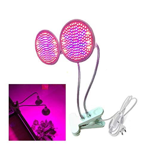 LED plantenverlichting clip voor planten 1/2 hoofd cultuurplanten de lamp van de vullamp, interieur, de fotosynthese Office Garden Bloemen Mostre [Klasse ener