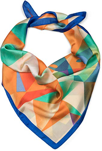 styleBREAKER Dames driehoekige sjaal met geometrische hertenprint, multifunctionele sjaal, bandana 01016192