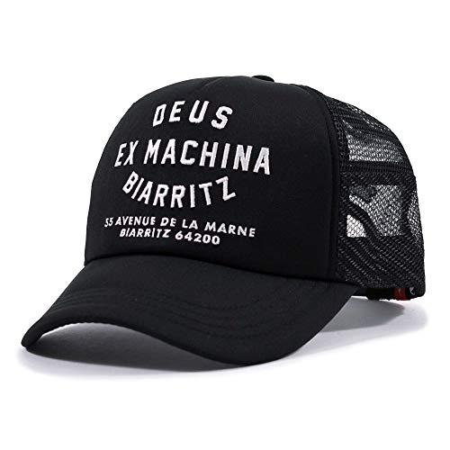 Deus Ex Machina Biarritz - Gorra para camión, color negro