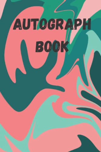 """Compare Textbook Prices for AUTOGRAPH BOOK: A 6x9"""" blank, 120page, funky camouflage design autograph book  ISBN 9798751538453 by scar, mad"""