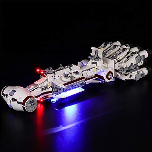 Kit De Iluminación DIY Compatible con Lego 75244, LED De Luz Conjunto De Star Wars Serie IV De La Nave Espacial Tantive Building Blocks (Sólo Juego De Luces