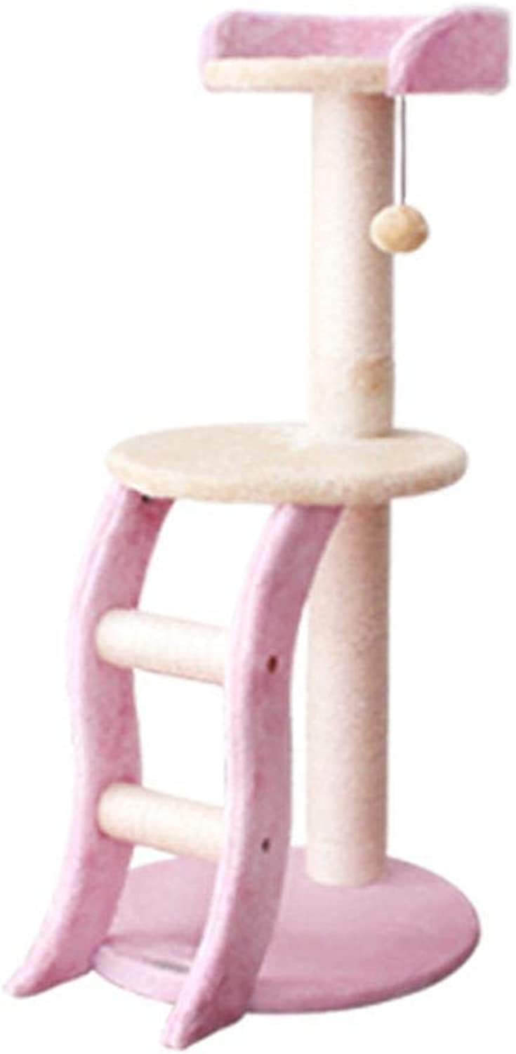 Axiba Play Towers Trees for Cats Cat Climbing Frame Sword Hemp Rope Cat Scratch Board grab column cat jumping platform for game 47cm 40cm  94cm