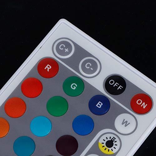 Controlador de Tira de luz, Control Remoto Inteligente por Infrarrojos, iluminación para el hogar DC5-24V para Luces de Panel de Luces de módulo