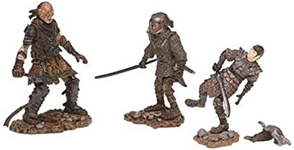 PA Distribution, Inc. Lord of The Rings Figure 3 Pack: Sam in Orc Armor/Frodo in Orc Armor/Orc Whipmaster