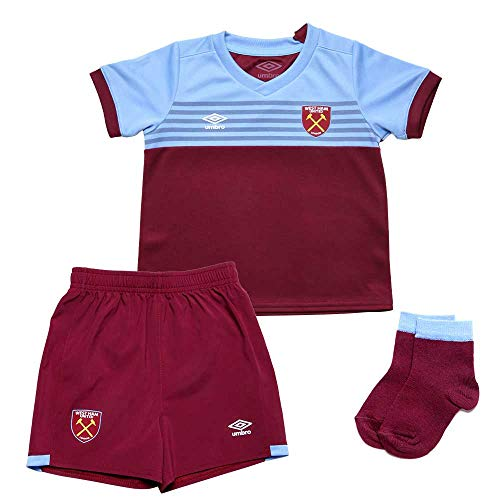 Umbro West Ham Home babypakket voor kinderen