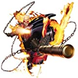 5 Inch Classic Ghost Rider Marvel Comics Removable Peel Self Stick Adhesive Vinyl Decorative Wall Decal Sticker Art Kids Room Home Decor Boys Children 5 1/2 x 5 1/2 inches