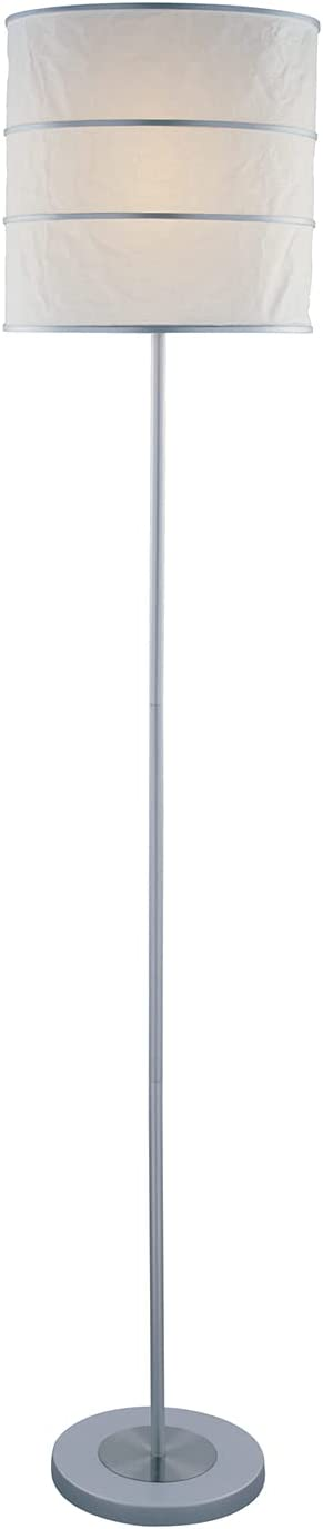 Lite Source LS-81430 Sedlar Floor gift Ranking TOP20 Lamp and Stee Silver Polished