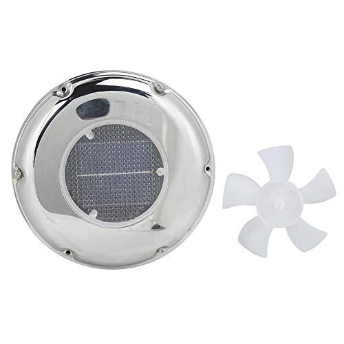 Ventilador de ventilación solar para barco, ventilador de ventilación con energía solar del extractor de acero inoxidable
