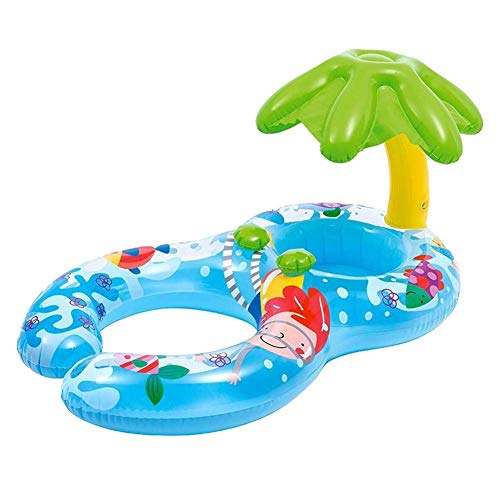 DJYD Parasol natación del bebé recién Nacido Piscina Infantil Padres de Actividad de Verano Juguetes for la Piscina Flotador Inflable FDWFN