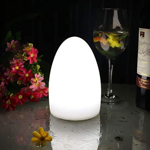 LED Colorido en Forma Huevo luz Noche USB lámmesa Carga lámmesa jardín, decoración al Aire Libre