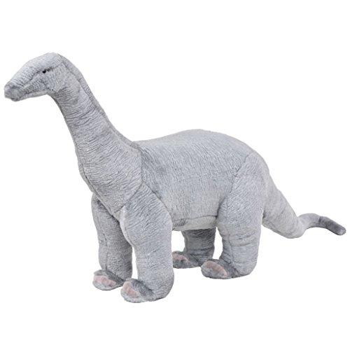 vidaXL Plüschtier Stehend Brachiosaurus Dinosaurier XXL Kinder Plüschspielzeug