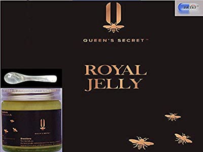 Queen's secret™ 100% Pure and Fresh Royal Jelly 50g + FREE mother of pearl spoon