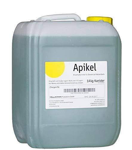 APIKEL Sirup 14 kg im Kanister Flüssiges Bienenfutter Futter für Bienen Bienensirup Imker