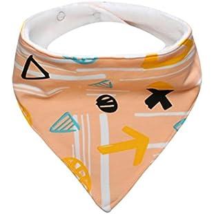 Waterproof Bibs, Jaminy Cute Baby Kids Cotton Bandana Bibs Feeding Triangle Saliva Towel Dribble Towel Triangle Waterproof (Orange):Donald-trump