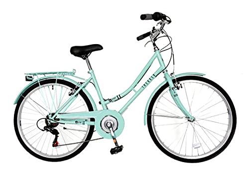 Aurai Trekker Ladies Heritage Bike 26' 6 Speed - Lagoon