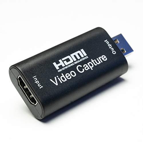 RIVALS Capture Mini : Carte de Capture HDMI vers USB en 1080p (Approuvé par Kappa Studio et ZEPAE)